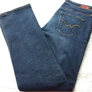 AG ADRIANO GOLDSCHMIED The Rider Jeans Straight 30